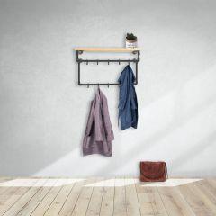 Kapstok Bath | Zwart 26.9 mm | Wand | DIY