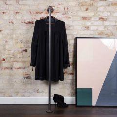 Kledingrek Grenoble | Zwart 26.9 mm | Vloer/Wand | DIY
