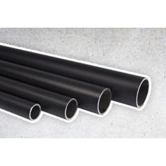 Zwarte Steigerbuis - 21.3 mm
