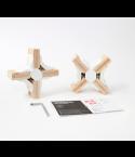 Playwood - 2 Cross Connectors - Wit