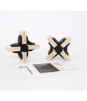 Playwood - 2 Cross Connectors - Zwart