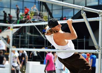 Sport en Vrije tijd - Steigerbuis inspiratie