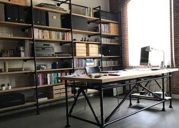 Leren en Werken - Steigerbuis inspiratie