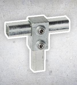 Steigerbuis Koppelingen - Vierkant 25x25 mm