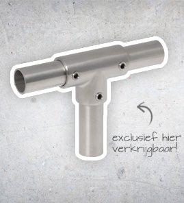 Steigerbuis Koppelingen - RVS 316 -28.0mm