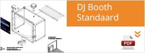 Werktekening Steigerbuis DJ Booth / DJ Meubel
