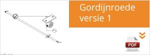 Werktekening Steigerbuis Gordijnroede